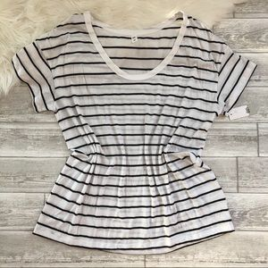 Nordstrom BP Striped T-shirt NWT
